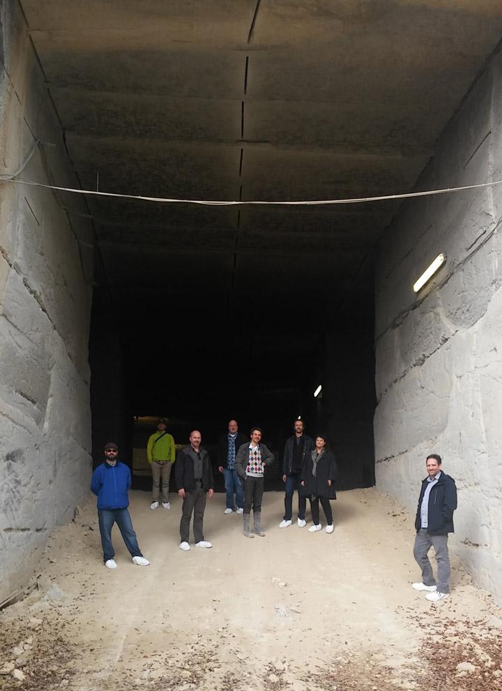 Dalla California a Nanto: otto architetti in tour nelle nostre cave di Grigio Alpi