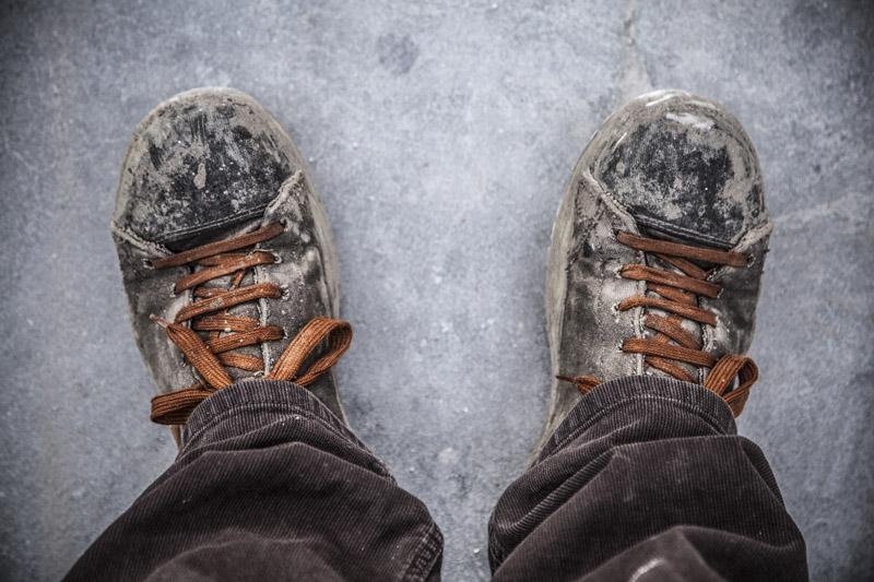 Francesco Grassi, brand ambassador per la linea di scarpe da lavoro Brave dell'azienda Dike