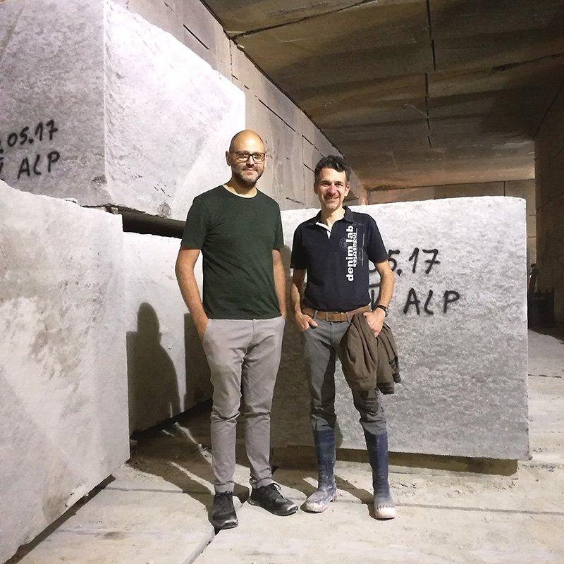 Laboratorio del Marmo collaborerà con Odoardo Fioravanti.