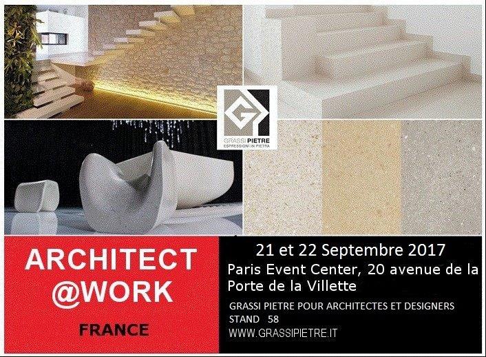 Grassi Pietre in Paris for Architect@work