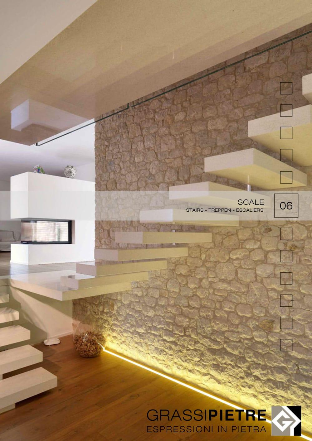 Scale Moderne In Pietra.Scale Interne Moderne In Pietra