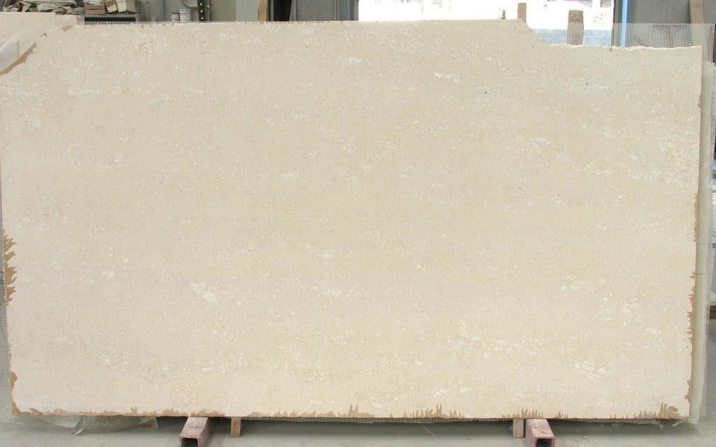 Lastra di pietra bianco avorio levigato - Pietra di Vicenza