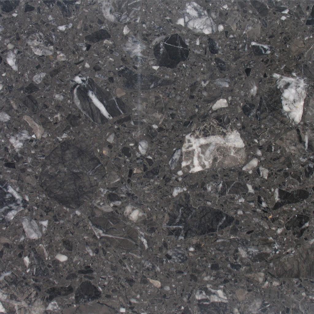 Grassi Pietre agglomerati grigio carnico polish
