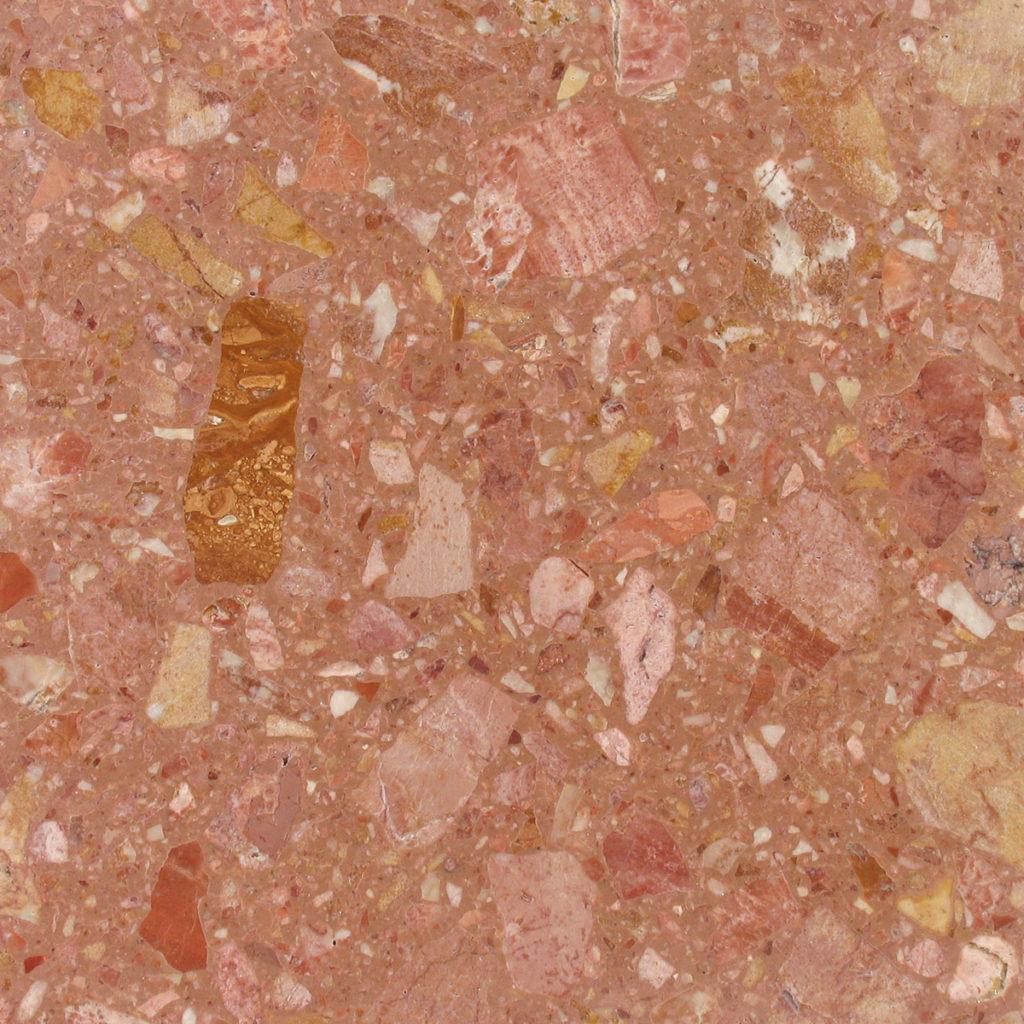 Grassi Pietre agglomerati rosa del garda polish