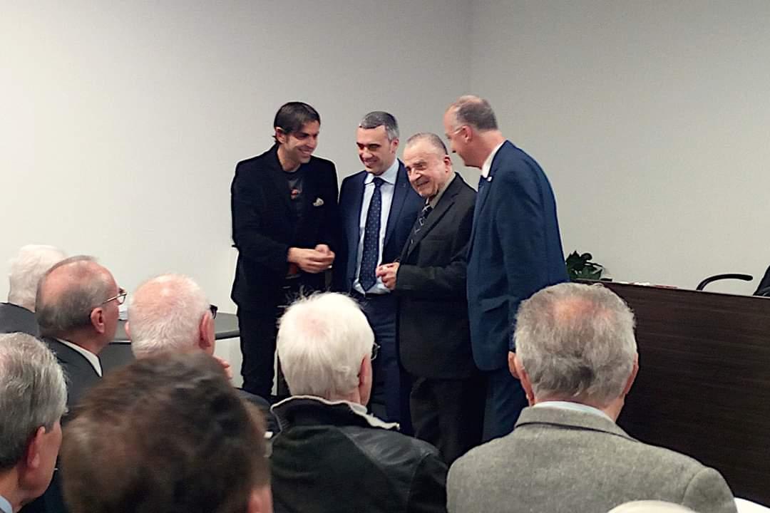 Ordine degli ingegneri di Vicenza: riconoscimento a Pietro Grassi