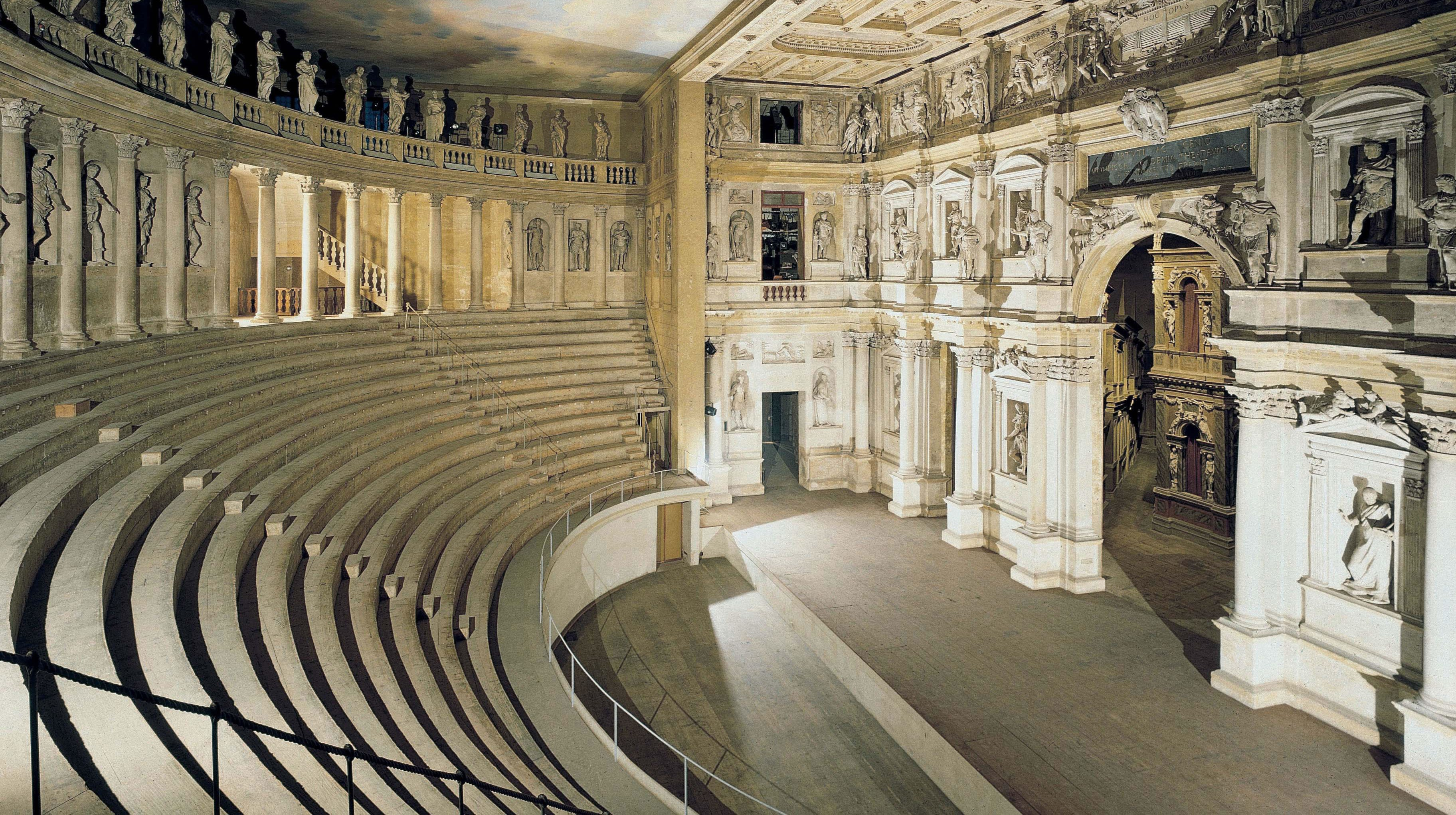 """Palladio Talks – Life is a comedy"""" – A brief history of the theatre"""