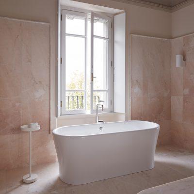 Bagno rosa - Marmo